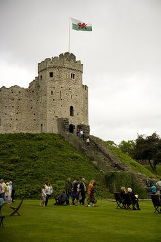 The Keep Cardiff Castle, Cardiff, South Wales, UK