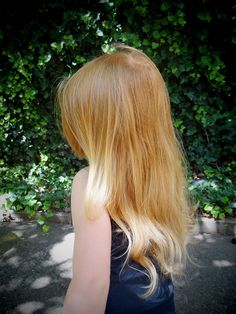 I think I might want to try a more strawberry blonde colour