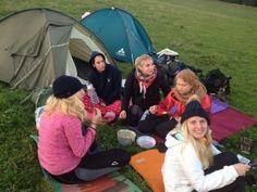 #DukeofEdinburgh Expedition durch den Schwarzwald  ...die Zelte können bezogen werden - Nacht 2 im Freien kann kommen...