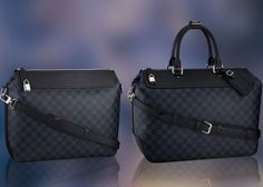 Elegant, Timeless and Fashionably Masculine Louis Vuitton's Damier Cobalt Collection - CapeLux.com
