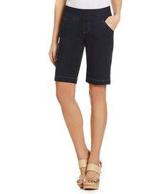 Jag Jeans Ainsley Pull-On Bermuda Shorts   Dillards.com