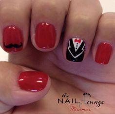 @the_nail_lounge_miramar gel nail art
