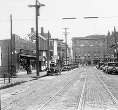 Twenty-Eighth Street at Dumesnil Street, Louisville, Kentucky, 1929. :: R. G. Potter Collection