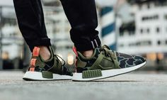 Adidas NMD XR1 Camo On Feet #adidas #camo #trainers #sneakers
