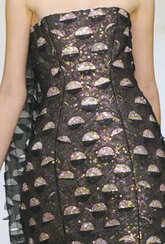 """PRINTS, PATTERNS AND SURFACE EFFECTS FROM S/S 2014 FASHION COUTURE COLLECTIONS / 3 From Paris, some details of """"couture"""" collection by Christian Dior."""