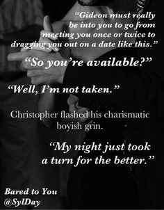 Crossfire Series - Bared To You by Sylvia Day