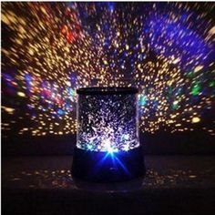 Flashing Colorful Sky Star Master Night Light Lovely Sky Starry Star Projector Holiday LED light Lamp
