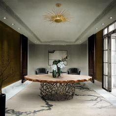 Looking for round dining table ideas? You're in the right place. We are sharing a selection of the most unique round dining room tables that will certainly insp Contemporary Home Furniture, Luxury Furniture, Contemporary Design, Furniture Design, Furniture Price, Marble Furniture, Italian Furniture, Art Furniture, Unique Furniture