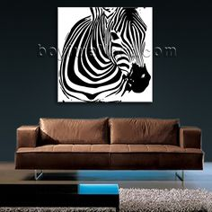 Gorgeous 1-panel canvas print on artist canvas with horse in modern style. It is available in numerous sizes to fit any size room!