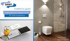 Sanit Ineo - podometni WC splakovalniki za vašo kopalnico. Celovit paket Sanit INEO IN: podometni splakovalnik, viseča WC školjka, WC deska in modna aktivirna tipka že za 237,56 € >> http://www.varcno-ogrevaj.si/sanit-ineo-podometni-wc-splakovalniki-za-vaso-kopalnico/