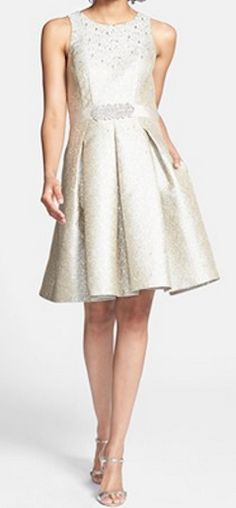 Embellished fit & flare dress http://rstyle.me/n/hi9zdnyg6