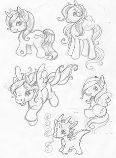62 best mlp images on pinterest ponies unicorn and unicorns MLP Mane 6 my little cute attack