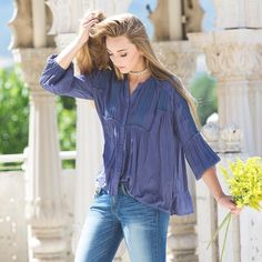 The Free Edge Blouse #hopeave