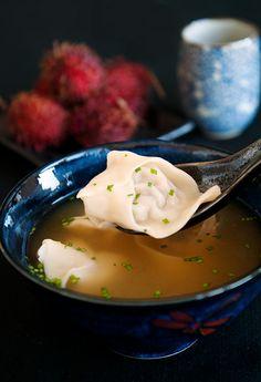 Wonton Soup - multiple dumpling flavor options.