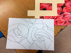 The Helpful Art Teacher: Looking at flowers through the eyes of Georgia O'Keeffe