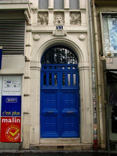 Door, Boulevard Bonne Nouvelle, paris | Flickr: Intercambio de fotos