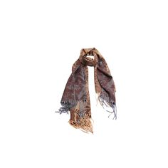 Pashmina Floral Cinza e Rosa de Viscose #pashmina #pashimina #modafeminina #fashion #scarf #scarfs