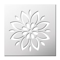 pochoir-fleur Stencil Patterns, Stencil Art, Stencil Designs, Pattern Art, Flower Stencils, Reverse Applique, Silhouette Clip Art, Art Drawings For Kids, Scroll Saw Patterns