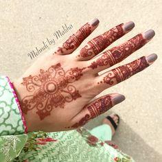 Eid mehndi   Natural henna color after 12 hours