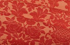 Gascogne in Ruby is a red floral fabric with a light rust base. Feminine and detailed, this classic fabric adds quite a statement. Red Interior Design, How To Make Pillows, Red Interiors, Fabulous Fabrics, Floral Fabric, Ruby Red, Rust, Detail, Feminine