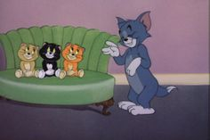 """""""Triplet Trouble"""" Tom and Jerry and Mammy Two-Shoes Cute Cartoon Characters, Favorite Cartoon Character, Cartoon Memes, Cartoon Art, Best Cartoons Ever, Funny Cartoons, Tom & Jerry Image, Tom And Jerry Pictures, Tom And Jerry Wallpapers"""