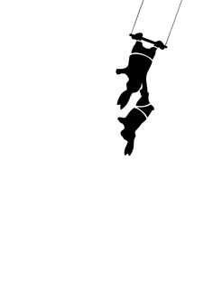 Ham-Trapeze-Rabbit Beatrix Potter, White Rabbits, Bunny Rabbits, Rabbit Silhouette, What Is Cute, Rabbit Vector, Year Of The Rabbit, Bunny Painting, Bunny Care