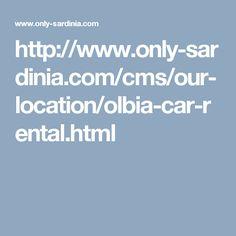 Car Rental Olbia Airport