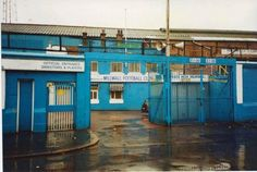 The Den, home of Millwall FC. 1992