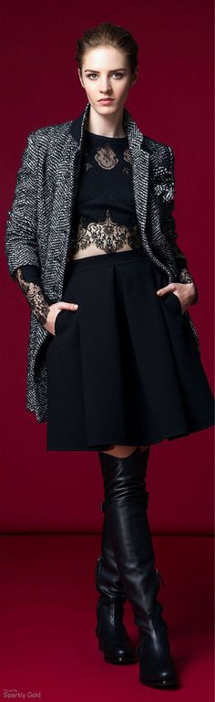 Ermanno Scervino Pre-fall 2015 - Ready-to-Wear News Fashion, Fashion Show, Fashion Design, Fashion Trends, All About Fashion, Passion For Fashion, Classy Outfits, Cool Outfits, Ermanno Scervino