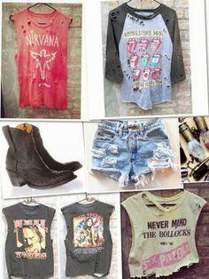 Vintage tour t-shirts