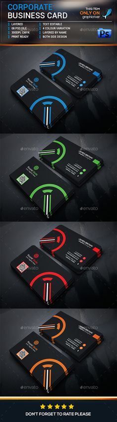 Business Card Template - Business Cards Print Templates