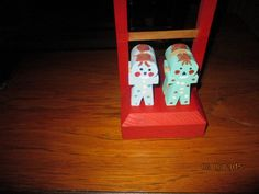 The tumbleing clowns by ppwoodcrafts on Etsy