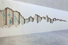 Exfoliation, Carlie Trosclair, Great Rivers Biennial, 2014