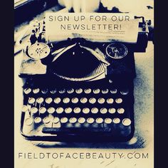 Sign up for our Balanced Beauty weekly newsletter for tips on how to glow naturally!  fieldtofacebeauty.com  #holistic #skincare #aesthetician #facials #naturalbeauty #beauty