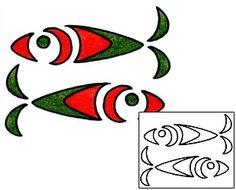 Show details for Marine Life Tattoo Marine Life tattoo | AAF-00227