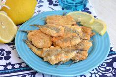 Alici indorate e fritte, scopri la ricetta: http://www.misya.info/ricetta/alici-indorate-e-fritte.htm