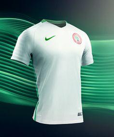 Nike : The New Nigerian football team home and away kit 2016-17