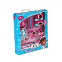 Caja pequeña con accesorios para el pelo de  Doctora Juguetes: pinzas, ganchos, horquillas y elásticos. 6,95 euros en Tino & Tina