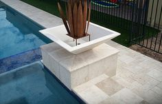 outdoor travertine tiles or stamped concrete for sidewalk - Yahoo Search Results