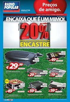 Newsletter - 20% desconto em todos os produtos de encastre!  http://www.radiopopular.pt/newsletter/2013/58/