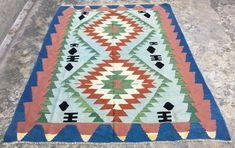 Large Tablecloths, Vintage Tablecloths, Vintage Bedspread, Afghan Rugs, Turkish Kilim Rugs, Cool Rugs, Hand Weaving, Kilims, Family Business