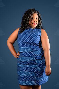 Seshoeshoe / seshweshwe dress.