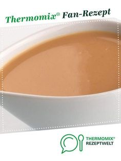 Rahmsoße von Zauberperle. Ein Thermomix ® Rezept aus der Kategorie Saucen/Dips/Brotaufstriche auf www.rezeptwelt.de, der Thermomix ® Community.
