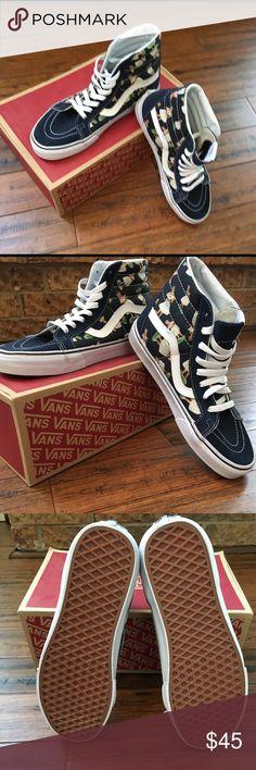 Vans Hi Reissue Digi Hula Classic Skate Shoe Brand New! Never worn 6e5abba65