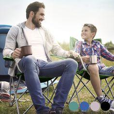 Non lasciarti sfuggire la praticasedia pieghevole da campeggioper le tue escursioni in campagna, al mare, i tuoi viaggi, etc.Questasedia complementare