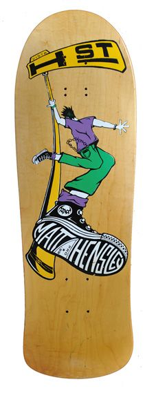 H-Street Matt Hensley. Another one of my favorite boards and favorite skaters of ALL TIME.