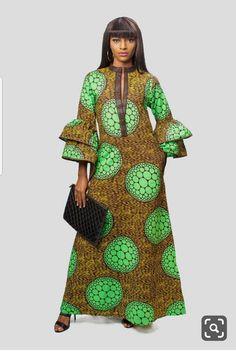 African print long dress Ankara long dress Ankara Kaftan African Kaftan dress gift for her African clothing for women Latest African Fashion Dresses, African Fashion Ankara, African Dresses For Women, African Print Dresses, African Print Fashion, African Attire, Africa Fashion, African Hair, African Style