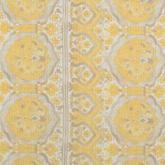 Metallic Gold/Maize Striped Floral Silk-Cotton Voile Fabric by the Yard | Mood Fabrics