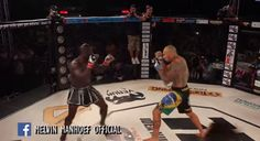 Video: Melvin Manhoef vs Cyborg 2