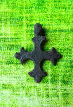 Ancient Viking Cross Pendant -Kievan Rus.